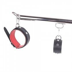 Spreader Bar set - Red Leather