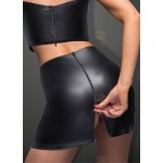 Eco-leather top with tape - XL